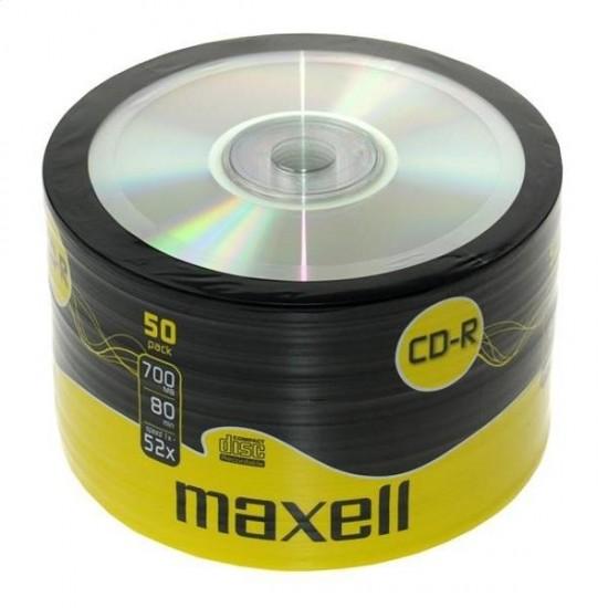 MAXELL CD-R 700MB 52X SP 50 624036.02.CN