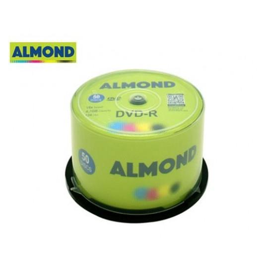 ALMOND DVD-R 4.7GB 16X 50T. CB