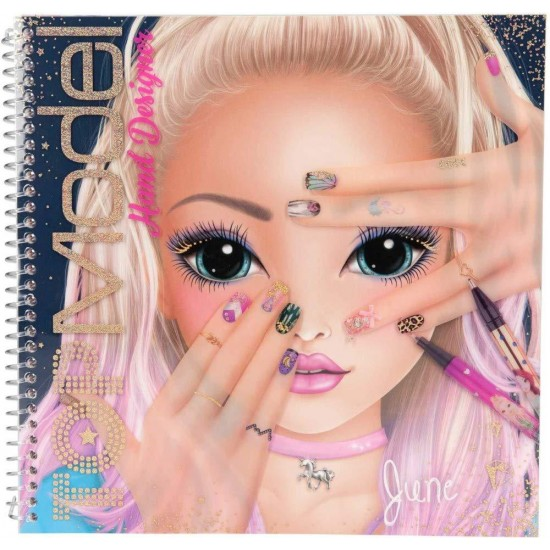 TOP MODEL CREATE YOUR HAND DESING COLOR BOOK 10929
