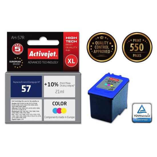 ACTIVEJET INK FOR HEWLETT PACKARD NO. 57 C6657A