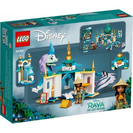 LEGO 43184 RAYA AND SISU DRAGON