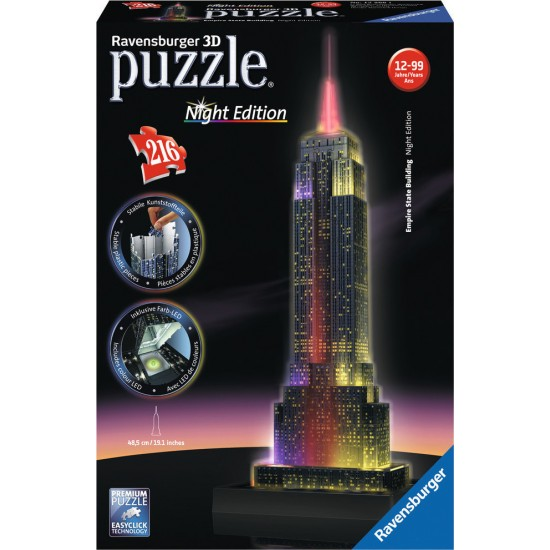 RAVENSBURGER PUZZLE 3D 216τμχ. EMPIRE STATE BUILDING ΕΚΔΟΣΗ